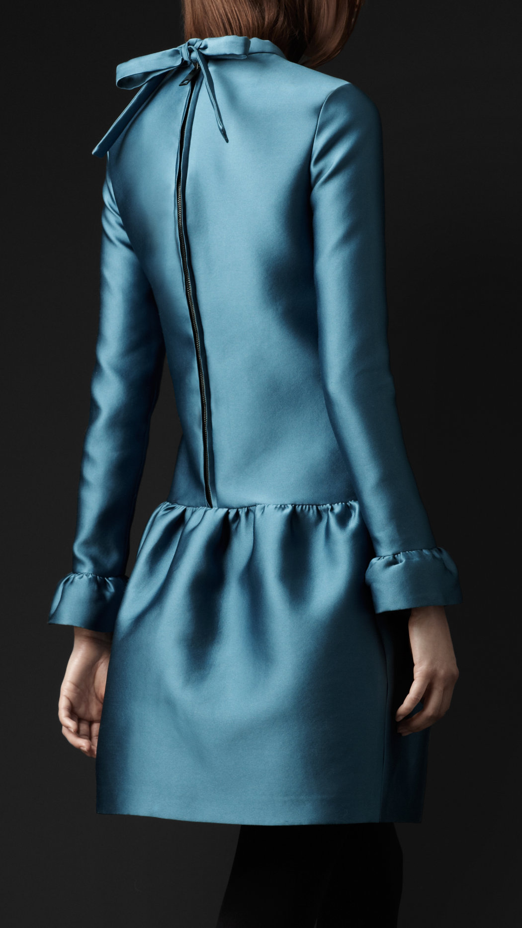 burberry-prorsum-long-sleeve-duchesse-silk-tunic-dress-2