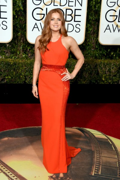 Amy Adams Versace dress