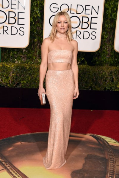 Kate Hudson Michael Kors Collection. Her look is complimented by Forevermark diamonds