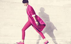 pink fashion editorial