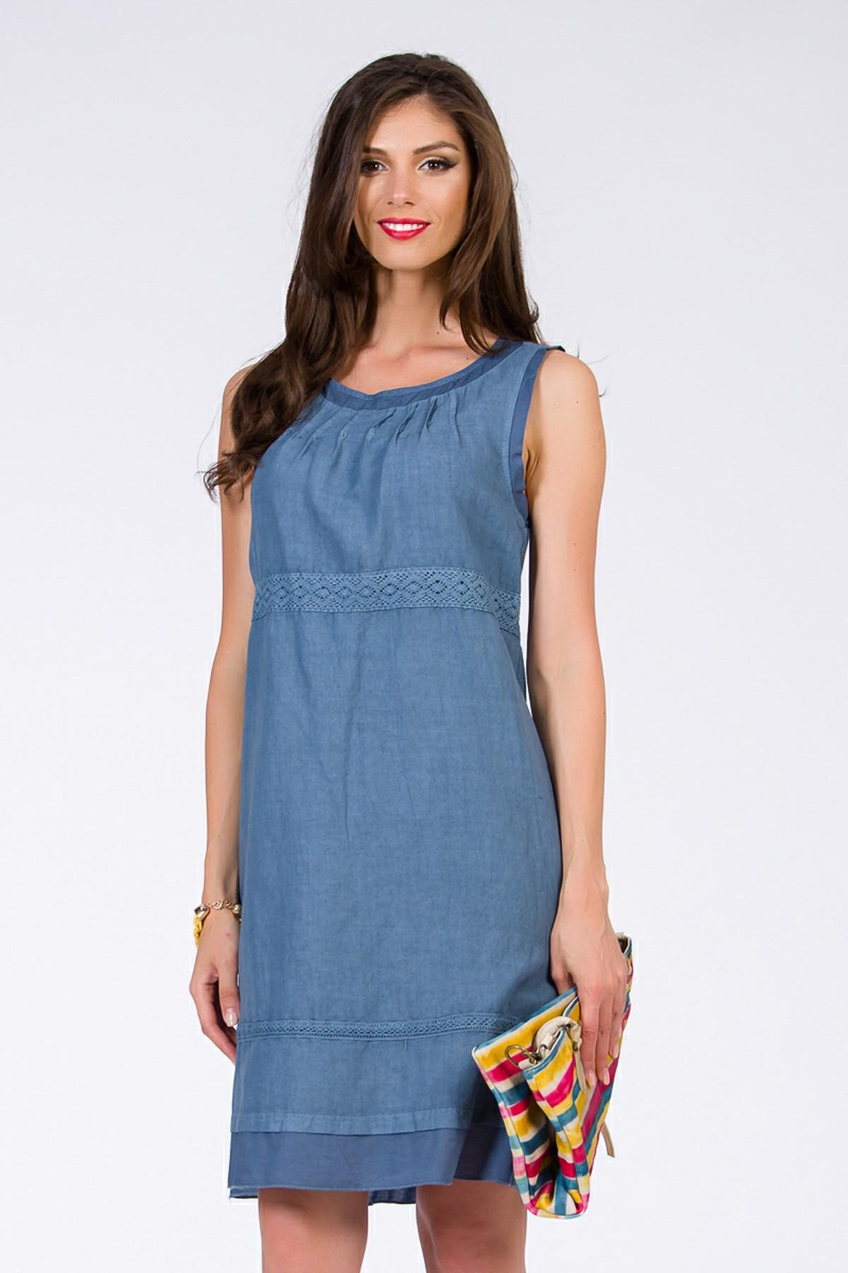 rochie albastra-fashionsense