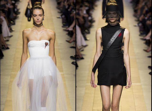 Dior-alb-negru