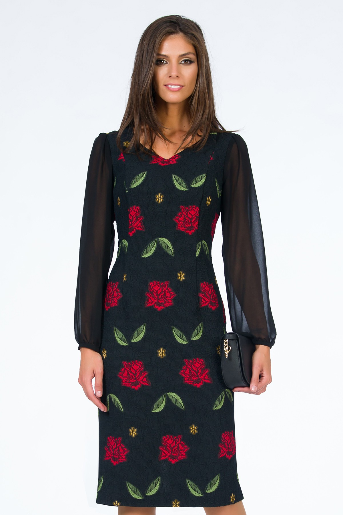 rochie-imprimeu-floral-sense