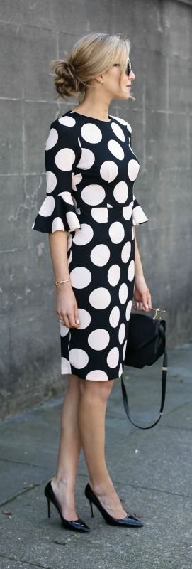 rochie-polka-dots