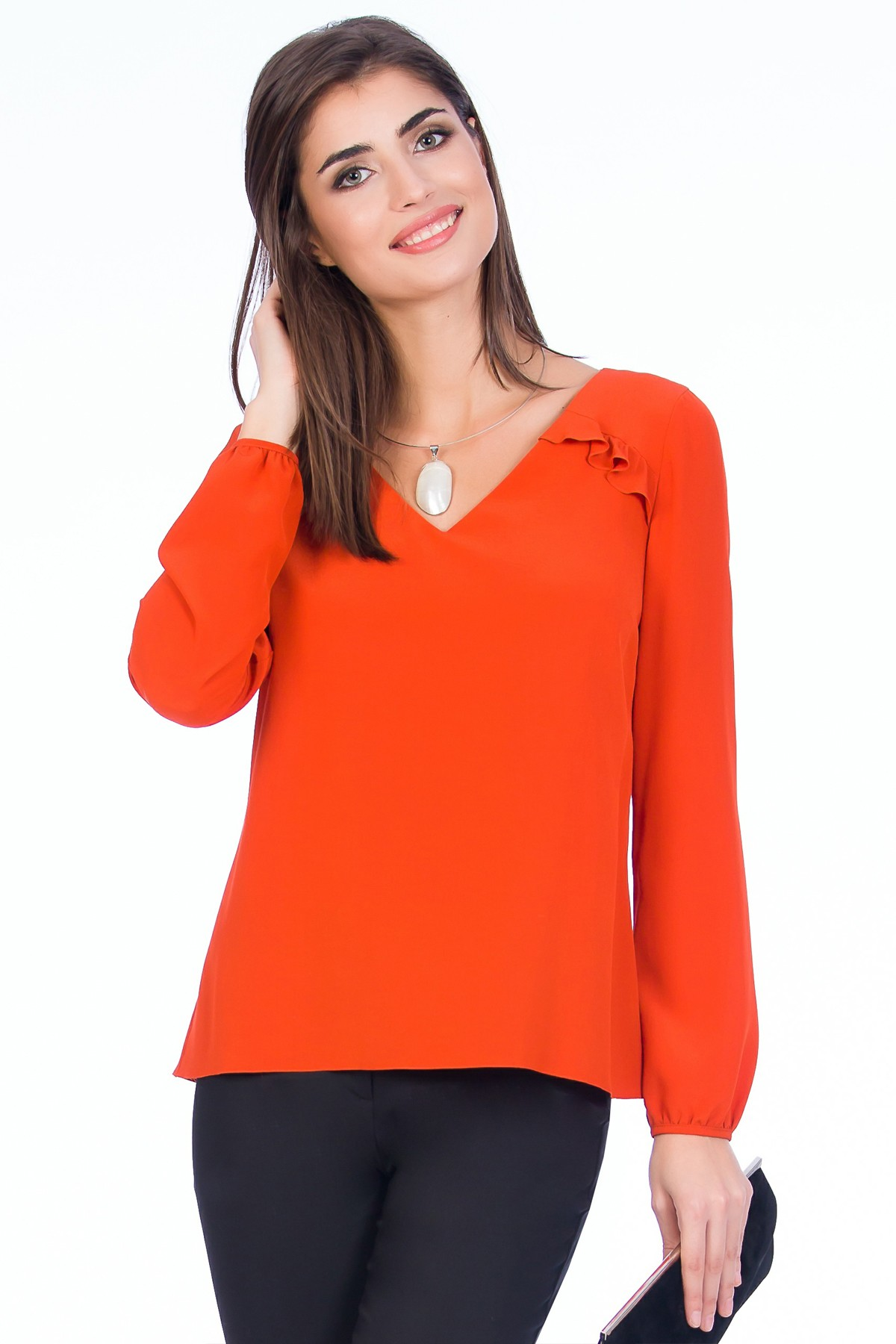 bluza-matase-oranj-sense