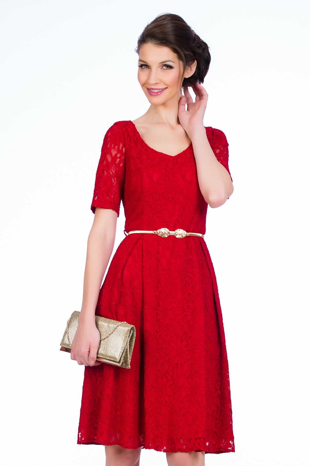 rochie-sense-dantela-rosie
