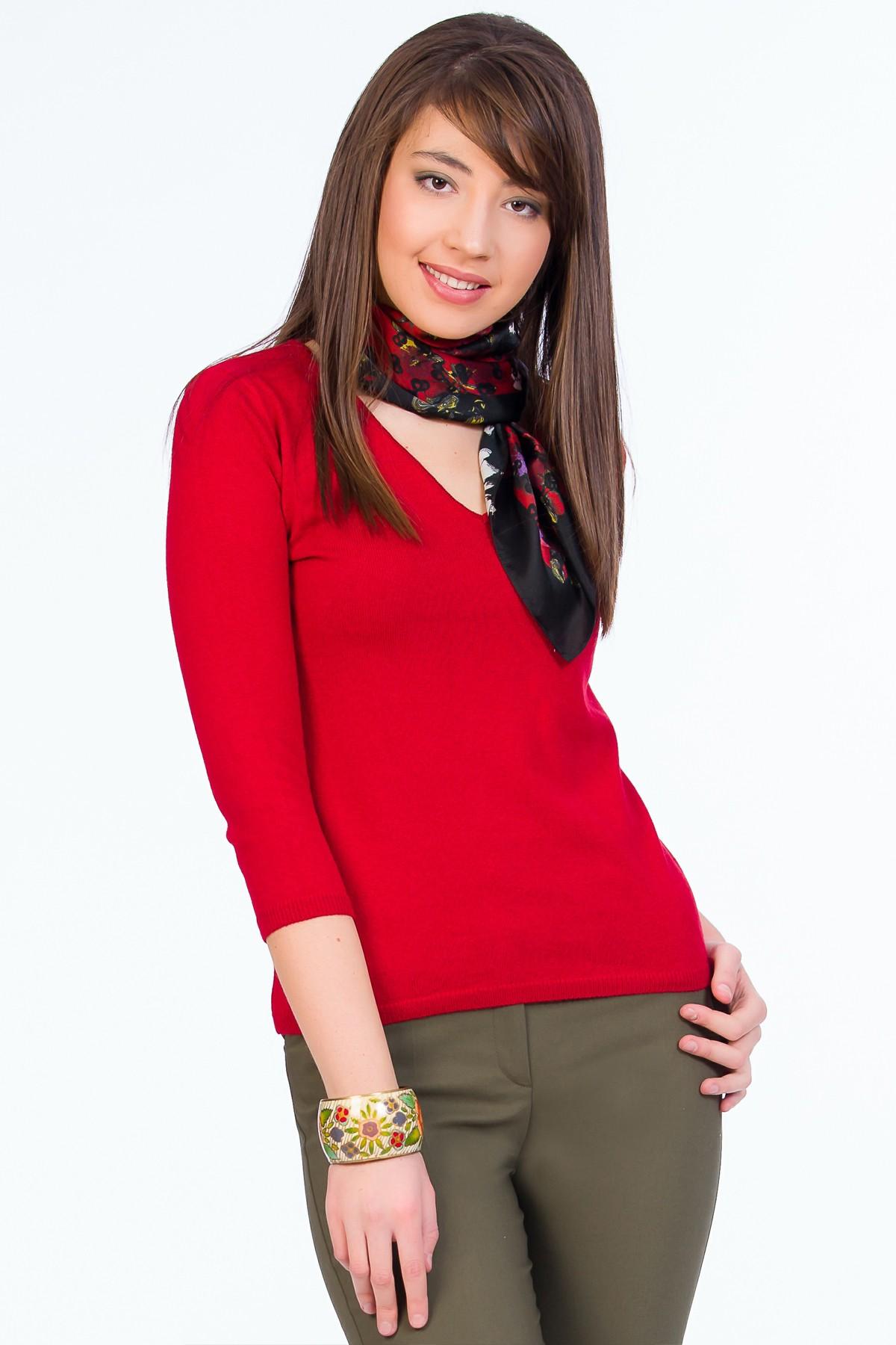 pulover-rosu-sense-lana-cashmere