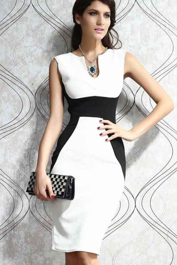 rochie-panel-contrast