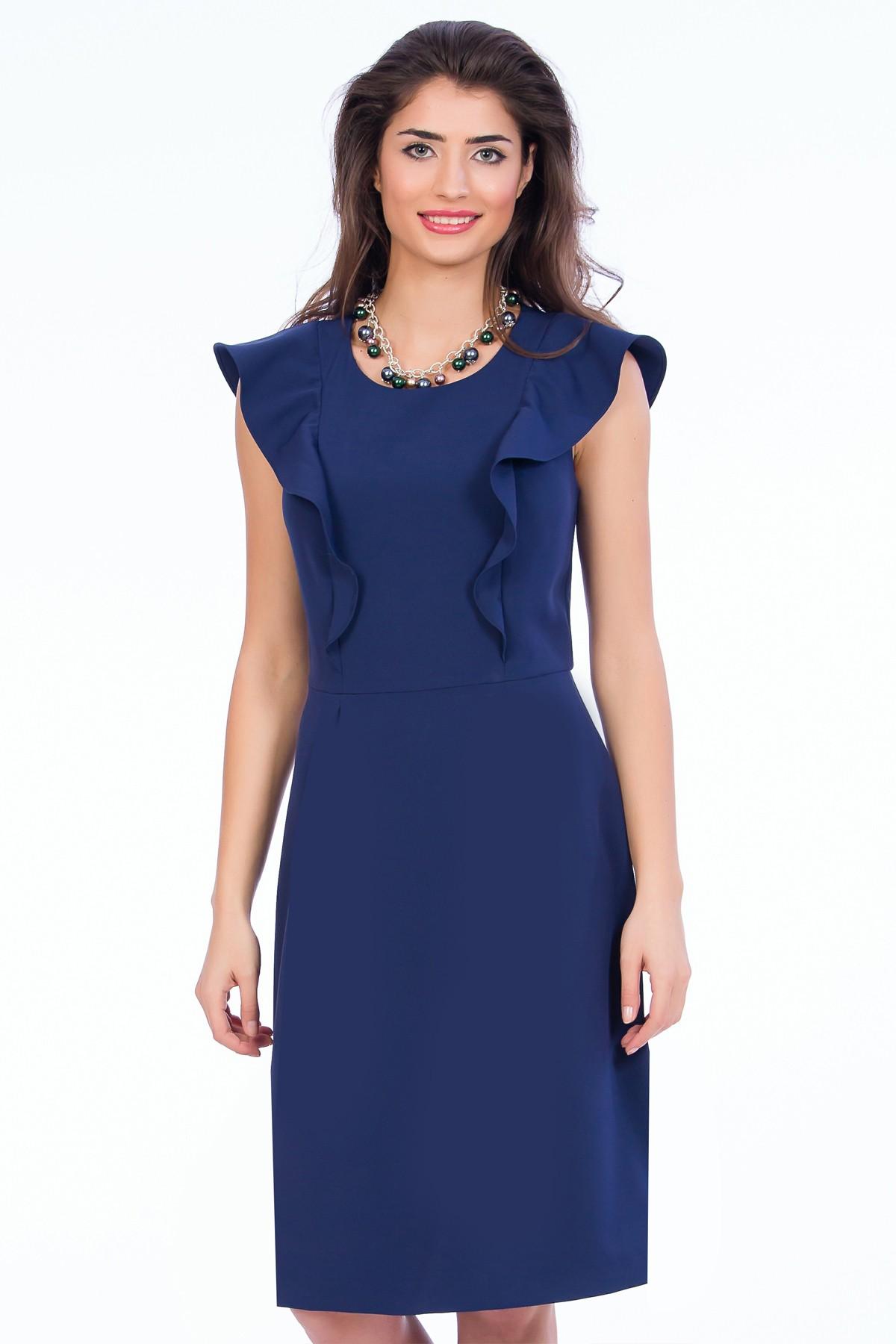 rochie-volane-bleumarin