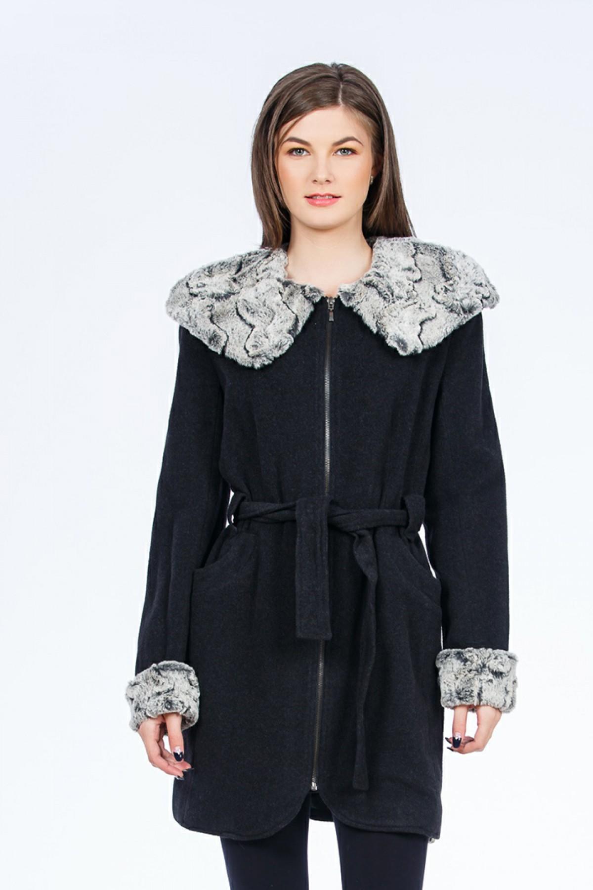 palton-negru-blana-sense