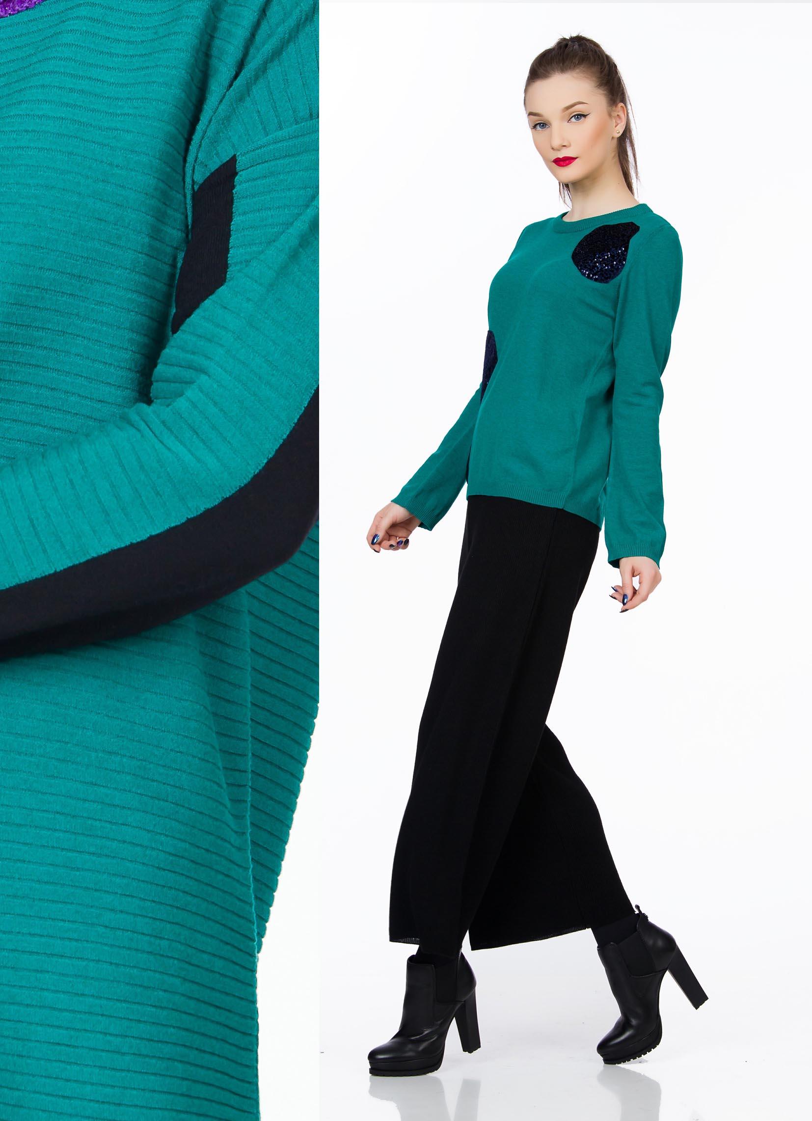 bluza-tricot-turqoise-sense