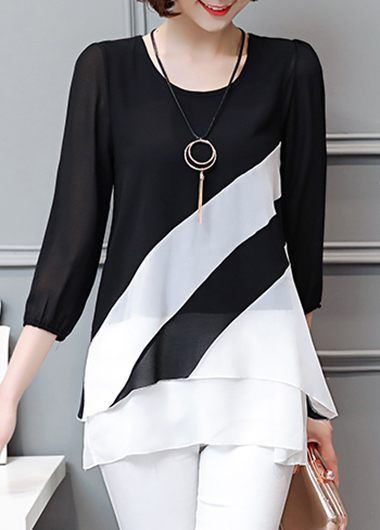 bluza-asimetrica-alb-negru