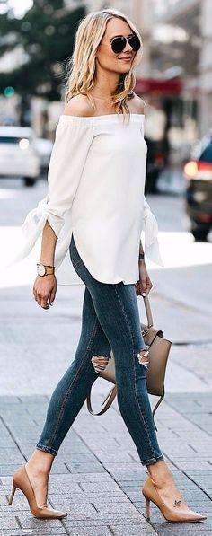 camasa-alba-jeansi