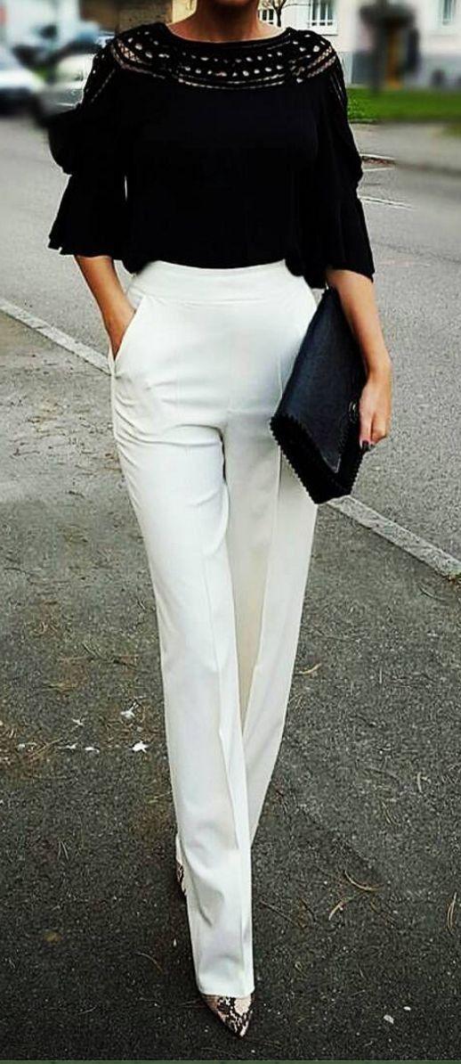 pantaloni-albi-talie-inalta