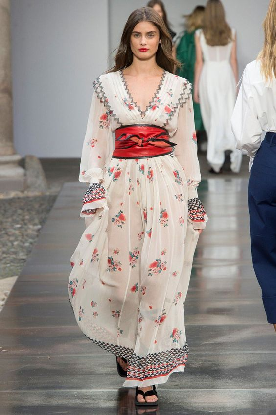 rochie-florala-brau