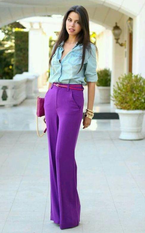 pantaloni-vioet