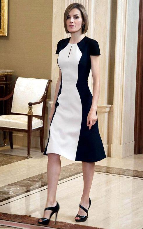 rochie-alb-negru