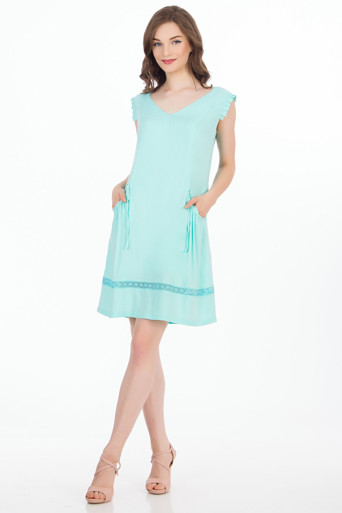 rochie-mini-bleu-sense