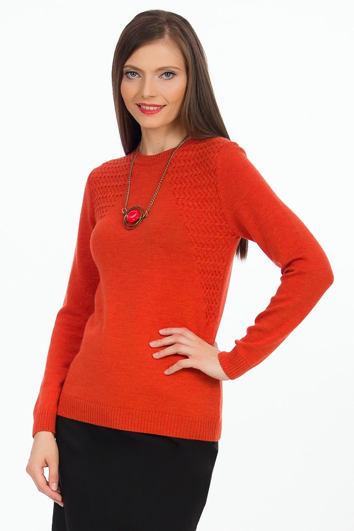 pulover-oranj-lana-sense