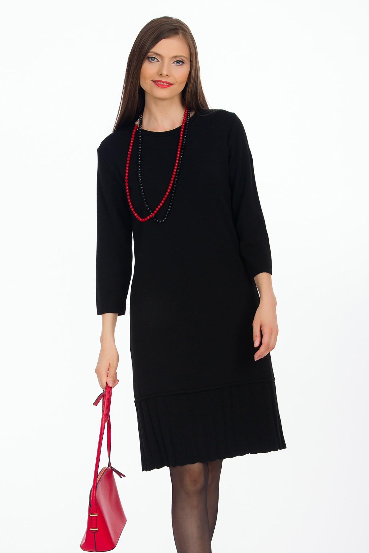 rochie-neagra-tricot-sense