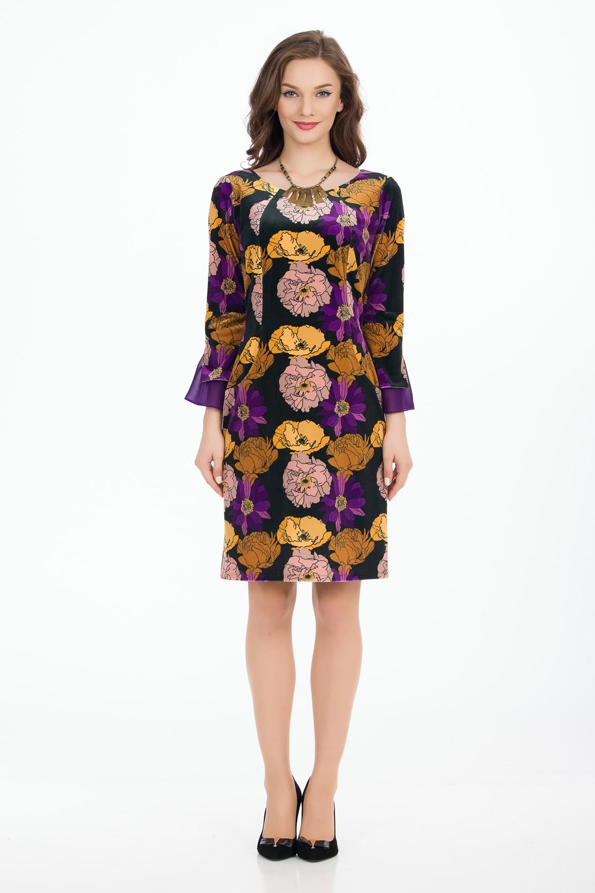 rochie-flori-catife-sense