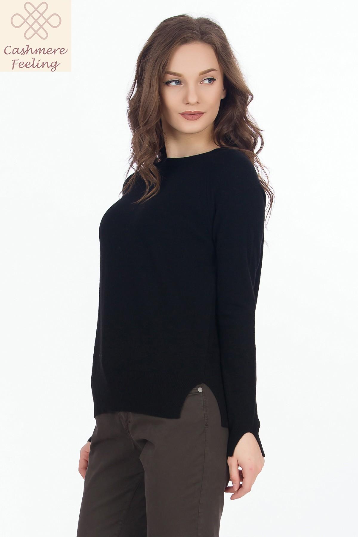 pulover-negru-casmir-sense