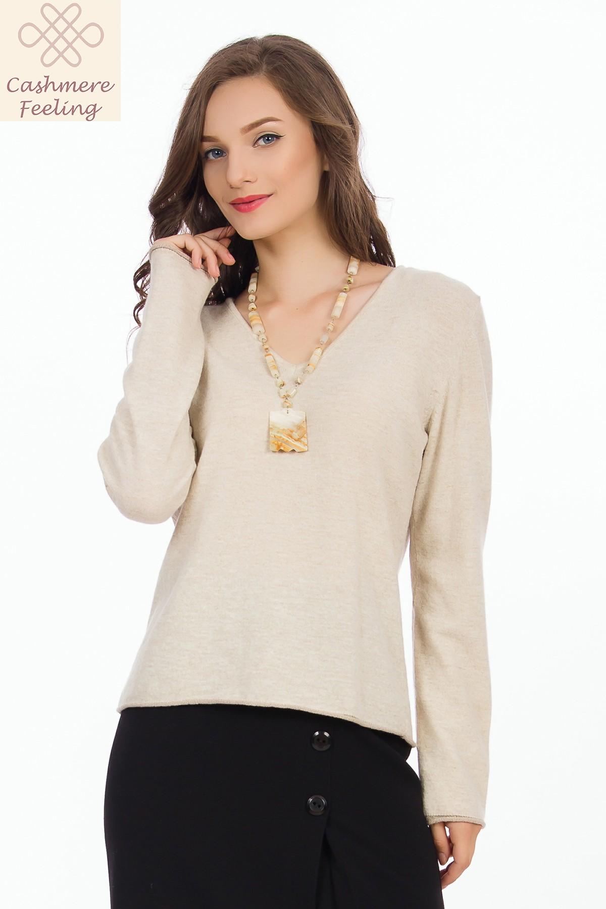 pulover-bej-casmir-sense