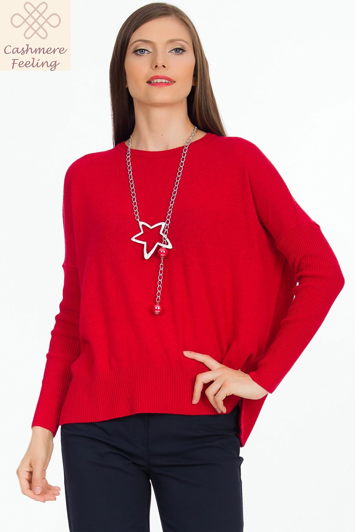 pulover-rosu-cashmere-sense