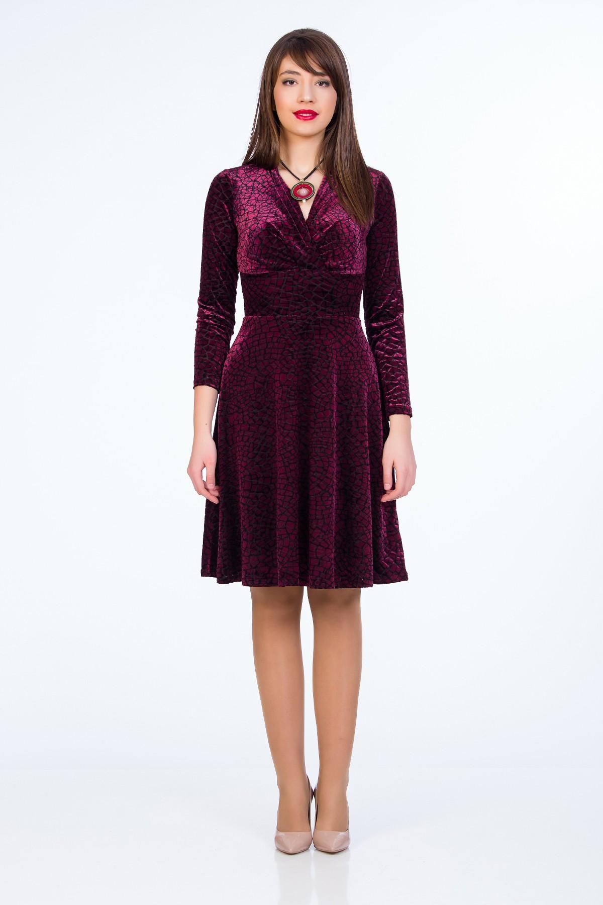rochie-violet-catifea-sense
