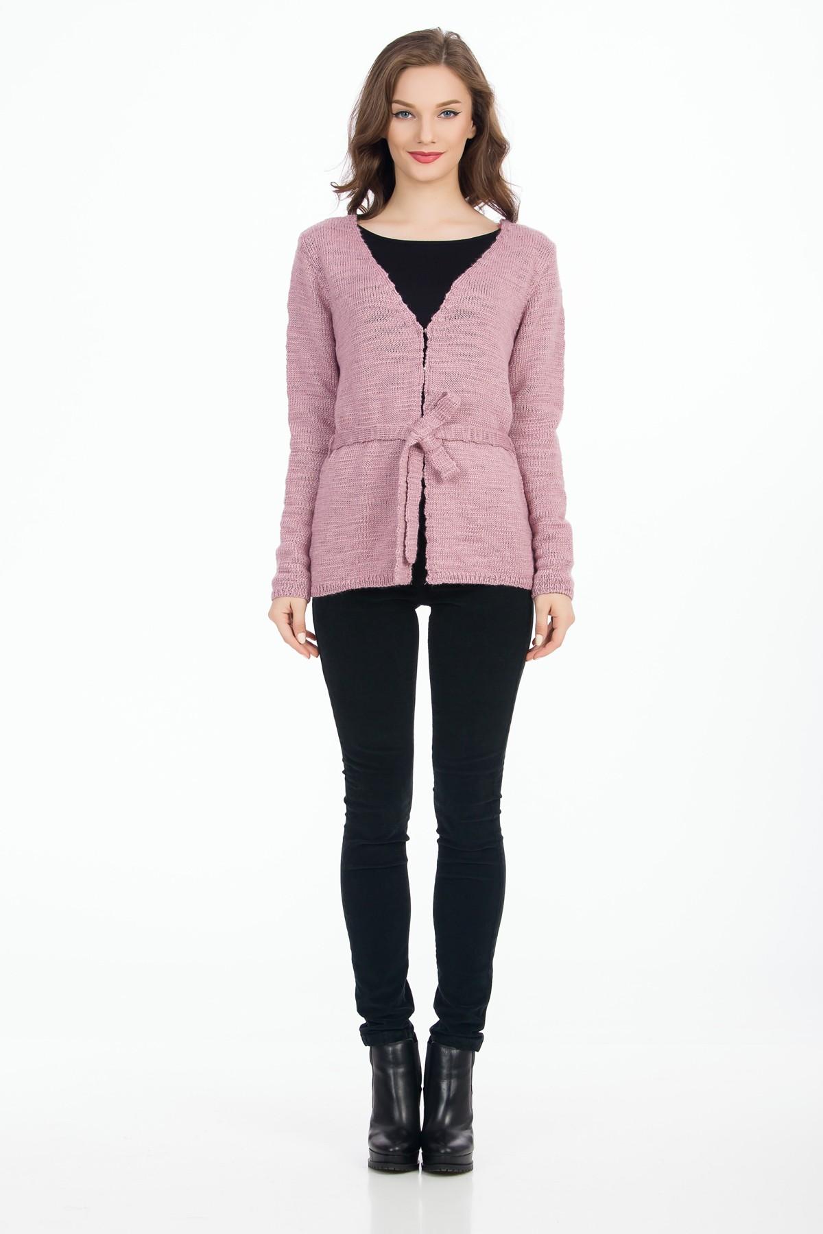 cardigan-tricot-roz-pastel-sense