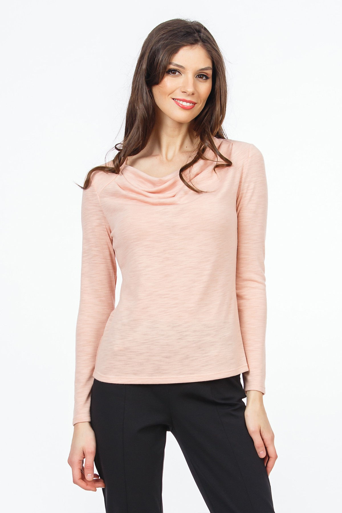 bluza-roz-piersica-sense