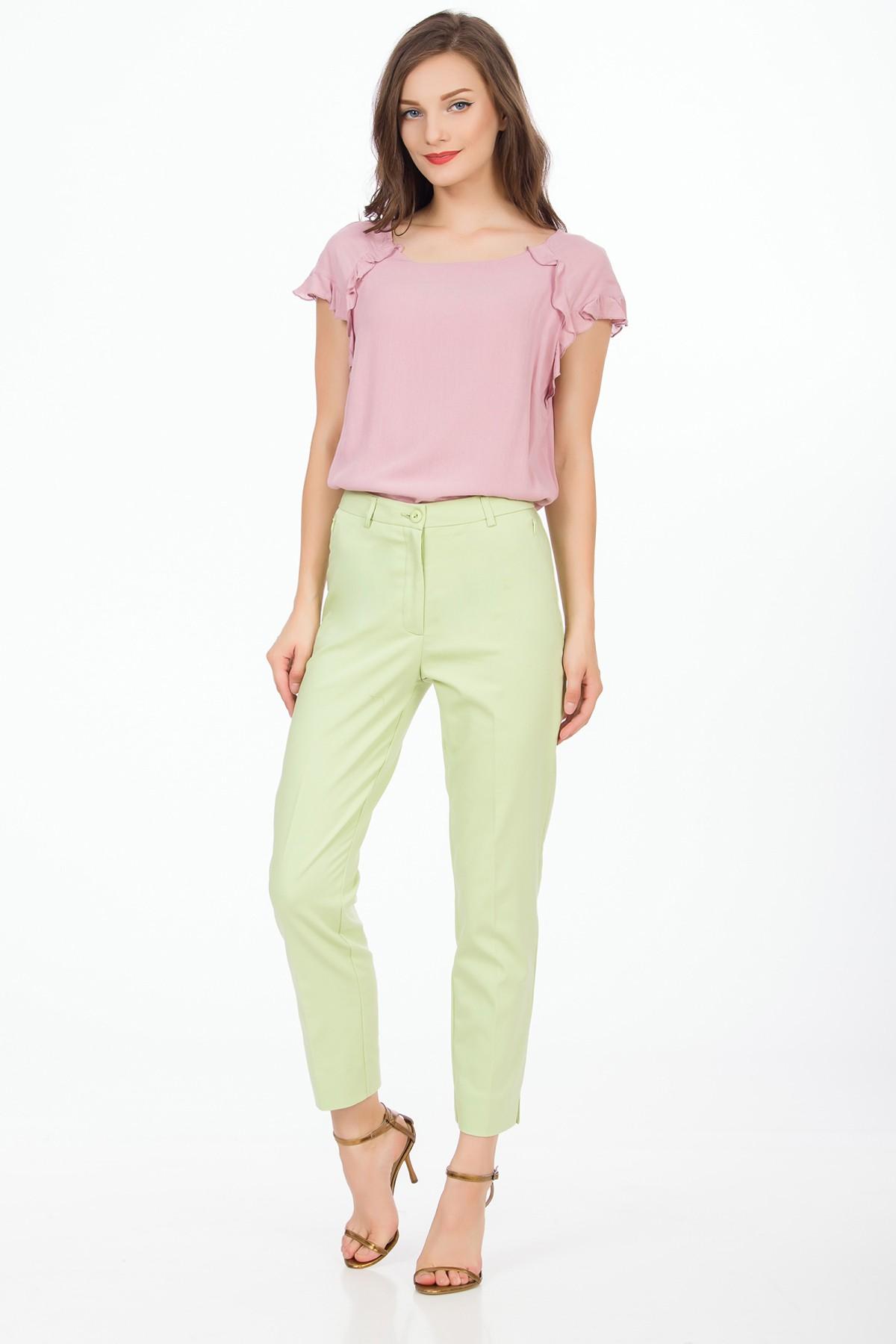 pantaloni-verde-pastel