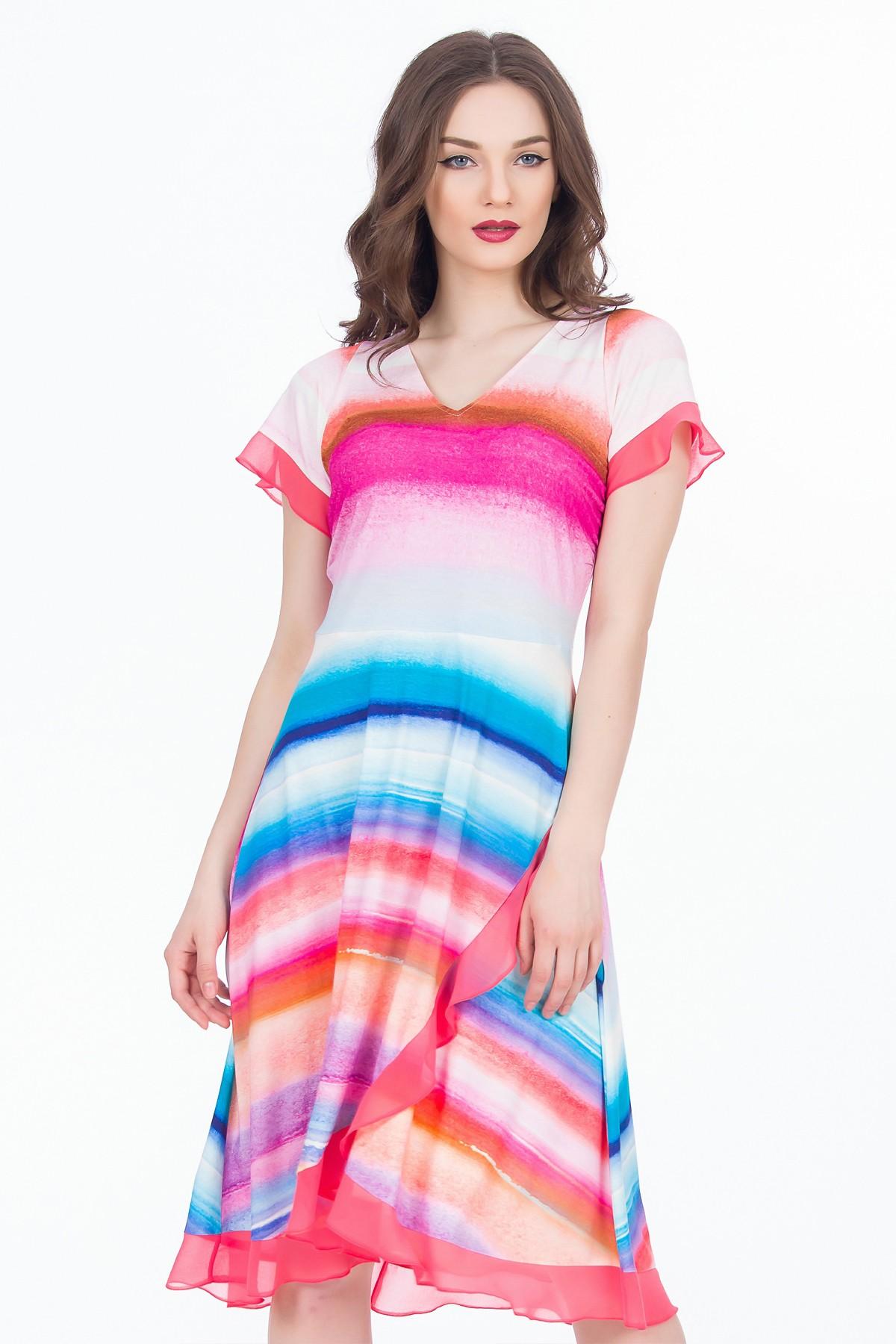 rochie-colorata-dungi-sense