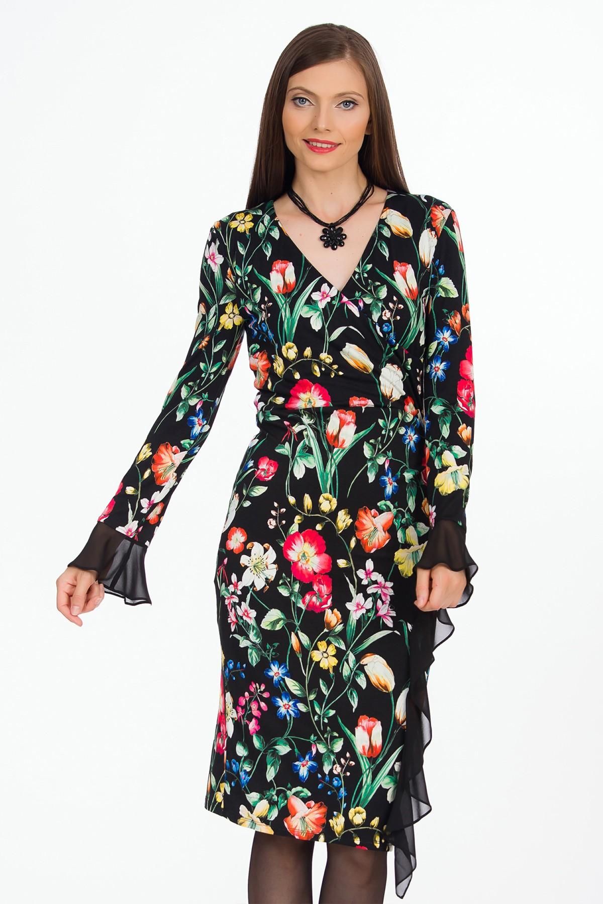 rochie-multicolora-flori-sense
