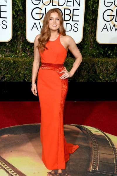 Amy Adams Versace dress