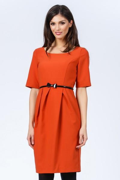 rochie portocalie fashionsense