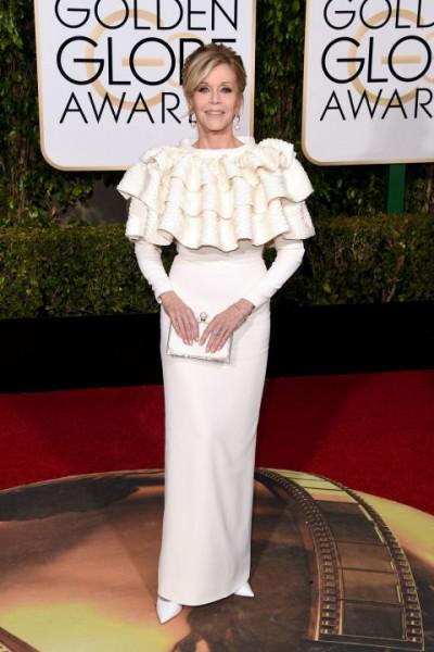 Jane Fonda Yves Saint Laurent Couture