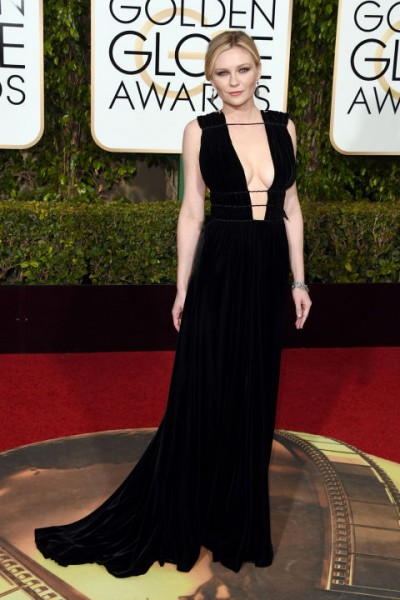 Kirsten Dunst  Valentino and Fred Leighton jewels