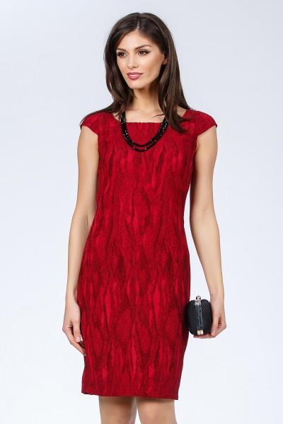 rochie rosie fashionsense