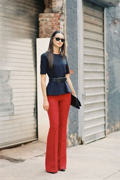 pantaloni-rosii