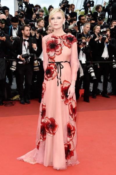 Kirsten Dunst in Gucci