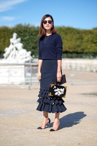 ruffle-skirt-paris-fashion-week