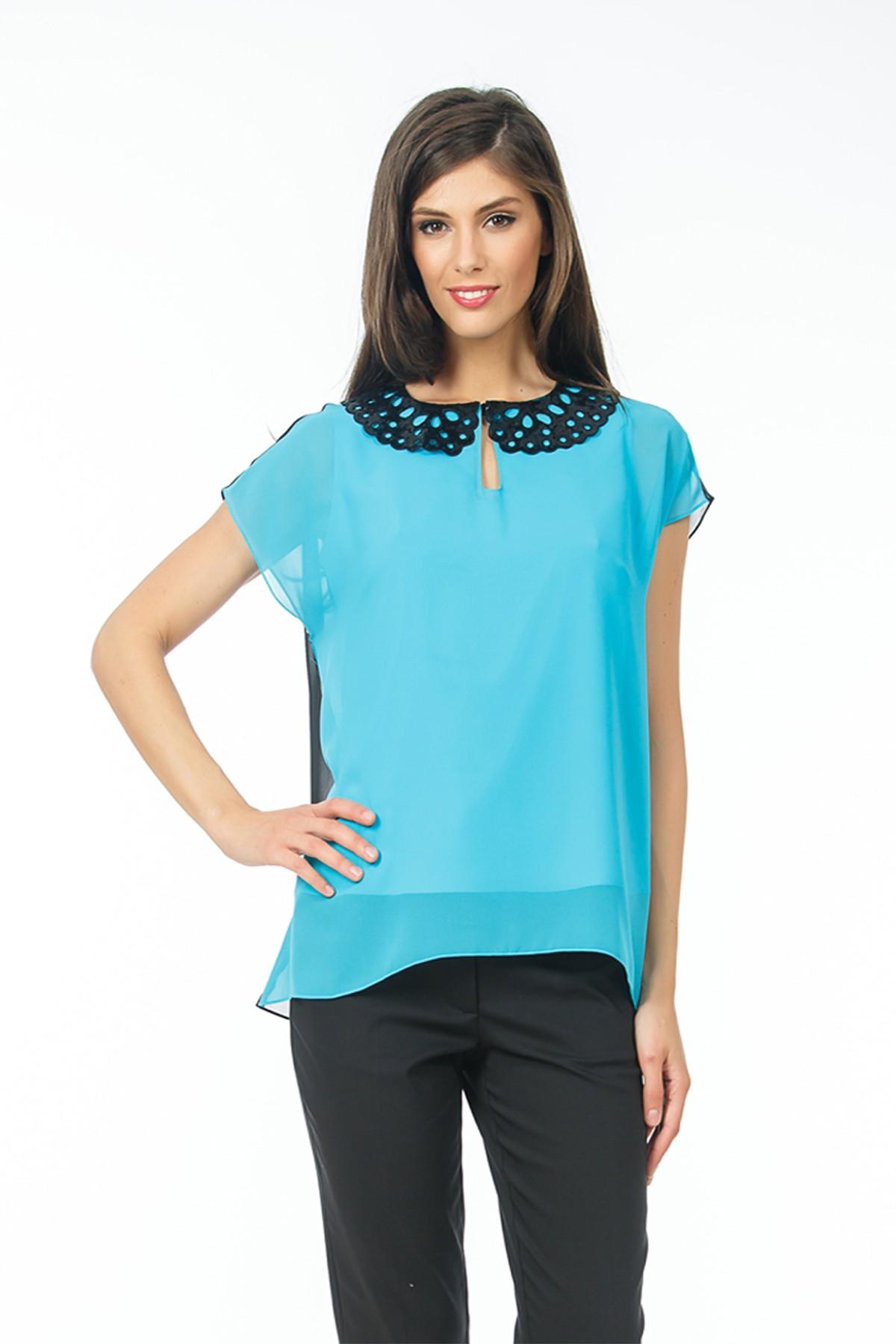 bluza-bleu-guler-peter-pan-fashionsense