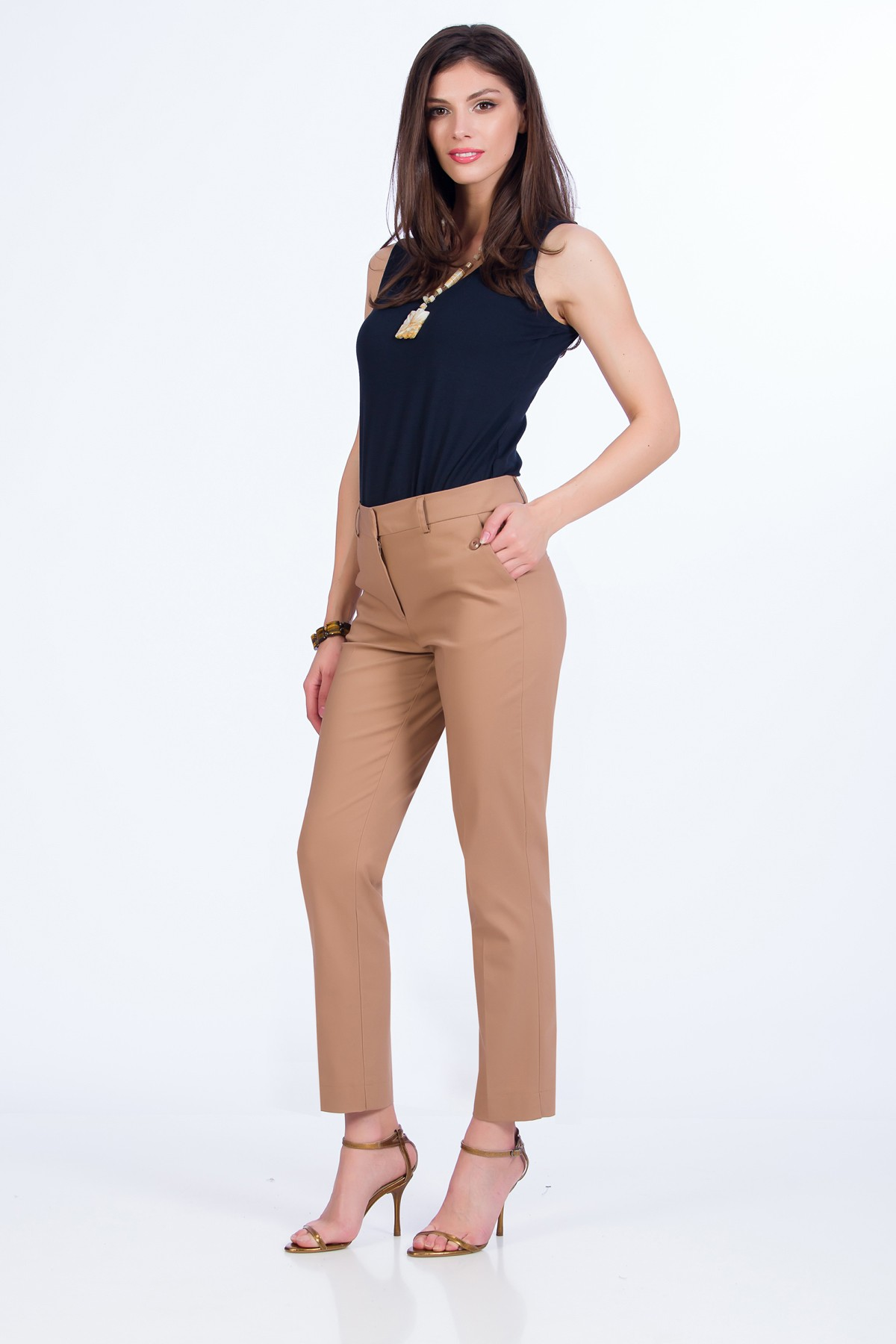 pantaloni-maro-office-sense
