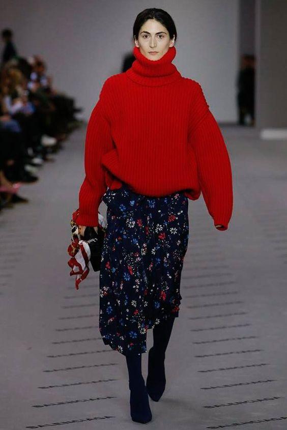 pulover-rosu-balenciaga