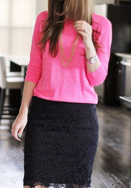 bluza-roz-fusta-neagra