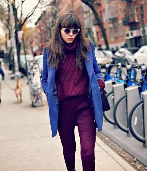 violet-albastru