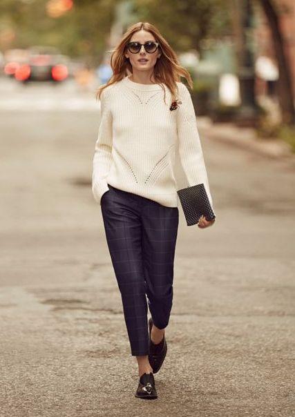 olivia-palermo-stil-pulover-alb