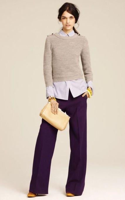 pantaloni-violet