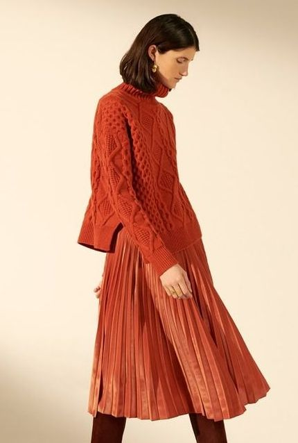 pulover-oranj-torsade